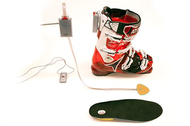 ski boot heaters